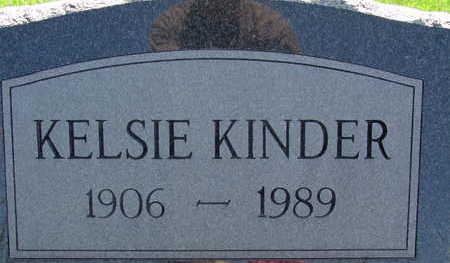 KINDER, KELSIE - Warren County, Iowa | KELSIE KINDER