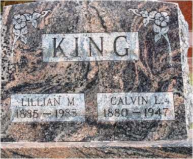 KING, CALVIN - Warren County, Iowa | CALVIN KING