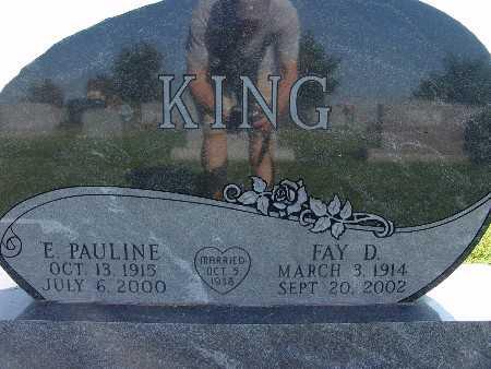 KING, E. PAULINE - Warren County, Iowa | E. PAULINE KING