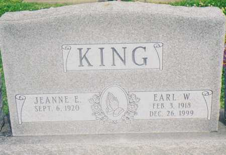 KING, JEANNE E. - Warren County, Iowa | JEANNE E. KING