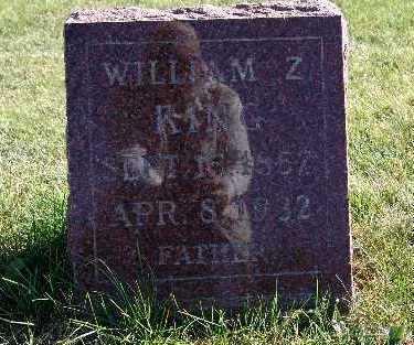 KING, WILLIAM Z. - Warren County, Iowa | WILLIAM Z. KING