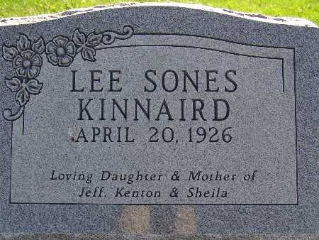 KINNAIRD, LEE SONES - Warren County, Iowa | LEE SONES KINNAIRD