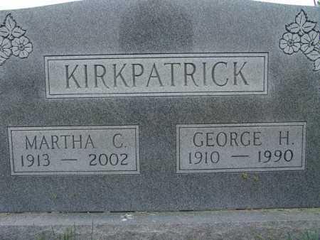 KIRKPATRICK, GEORGE H. - Warren County, Iowa   GEORGE H. KIRKPATRICK