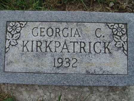 KIRKPATRICK, GEORGIA C. - Warren County, Iowa | GEORGIA C. KIRKPATRICK