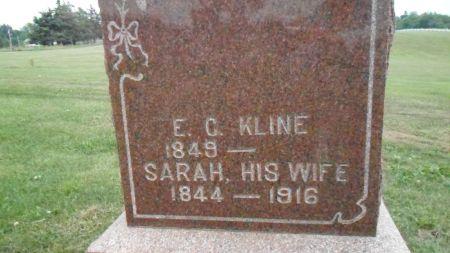 KLINE, EDWARD C. - Warren County, Iowa | EDWARD C. KLINE