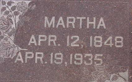 KLINE, MARTHA - Warren County, Iowa | MARTHA KLINE