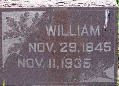 KLINE, WILLIAM - Warren County, Iowa   WILLIAM KLINE