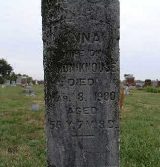 PERRY KNOUSE, ANNA - Warren County, Iowa   ANNA PERRY KNOUSE