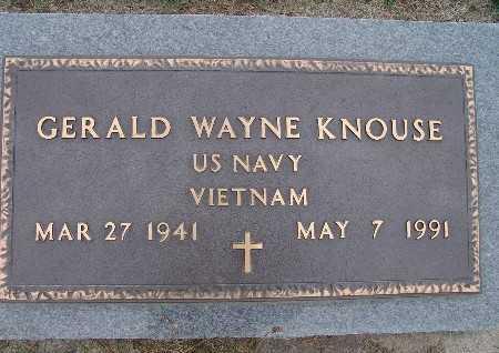 KNOUSE, GERALD WAYNE - Warren County, Iowa | GERALD WAYNE KNOUSE