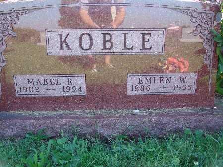 KOBLE, MABEL R - Warren County, Iowa | MABEL R KOBLE