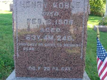 KOBLE, HENRY - Warren County, Iowa   HENRY KOBLE