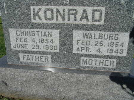 KONRAD, CHRISTIAN - Warren County, Iowa | CHRISTIAN KONRAD