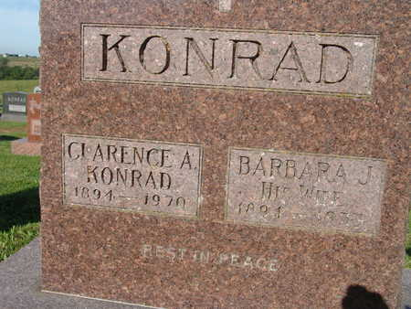 KONRAD, CLARENCE A. - Warren County, Iowa | CLARENCE A. KONRAD
