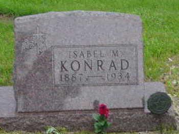 KONRAD, ISABEL M - Warren County, Iowa | ISABEL M KONRAD