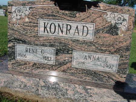 KONRAD, RENE G. - Warren County, Iowa | RENE G. KONRAD