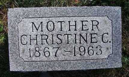 KRESS, CHRISTINE C. - Warren County, Iowa | CHRISTINE C. KRESS