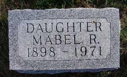 KRESS, MABEL R. - Warren County, Iowa | MABEL R. KRESS