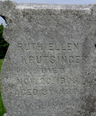 KRUTSINGER, RUTH ELLEN - Warren County, Iowa | RUTH ELLEN KRUTSINGER