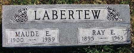 LABERTEW, MAUDE E. - Warren County, Iowa | MAUDE E. LABERTEW