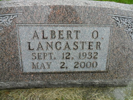 LANCASTER, ALBERT O. - Warren County, Iowa | ALBERT O. LANCASTER