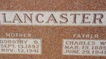 LANCASTER, DOROTHY O. - Warren County, Iowa | DOROTHY O. LANCASTER