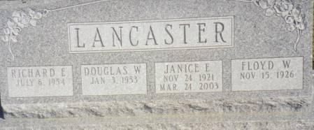 LANCASTER, JANICE E. - Warren County, Iowa | JANICE E. LANCASTER