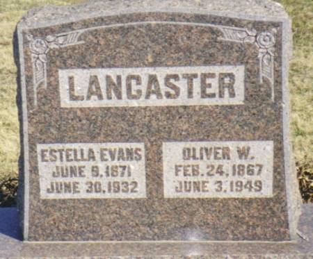 EVANS LANCASTER, ESTELLA - Warren County, Iowa | ESTELLA EVANS LANCASTER