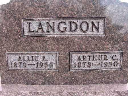 LANGDON, ALLIE E. - Warren County, Iowa | ALLIE E. LANGDON