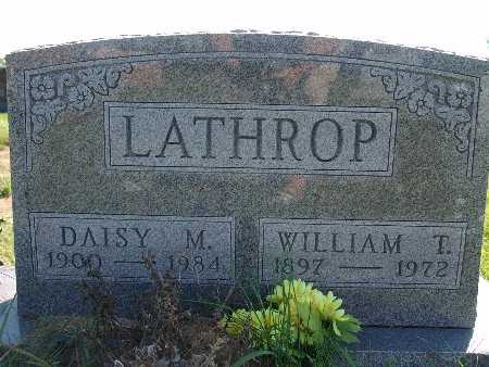 LATHROP, WILLIAM T. - Warren County, Iowa | WILLIAM T. LATHROP