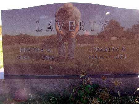 LAVERTY, BERTHA A. - Warren County, Iowa | BERTHA A. LAVERTY