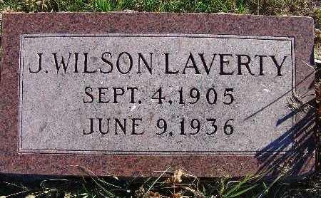 LAVERTY, J. WILSON - Warren County, Iowa   J. WILSON LAVERTY
