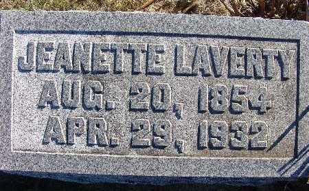 LAVERTY, JEANETTE - Warren County, Iowa | JEANETTE LAVERTY