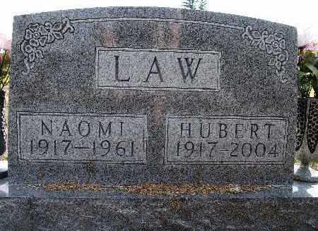 LAW, NAOMI - Warren County, Iowa   NAOMI LAW