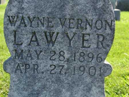 LAWYER, WAYNE VERNON - Warren County, Iowa | WAYNE VERNON LAWYER