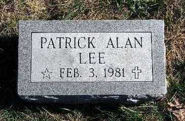 LEE, PATRICK ALAN - Warren County, Iowa | PATRICK ALAN LEE
