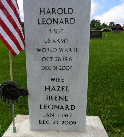 LEONARD, HAZEL IRENE - Warren County, Iowa | HAZEL IRENE LEONARD