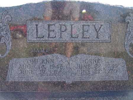 LEPLEY, GENE C. - Warren County, Iowa | GENE C. LEPLEY