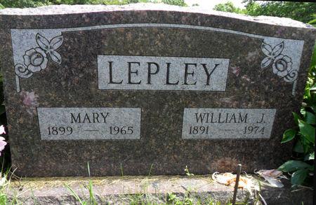 LEPLEY, WILLIAM J. - Warren County, Iowa | WILLIAM J. LEPLEY