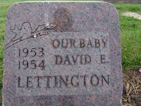 LETTINGTON, DAVID E. - Warren County, Iowa | DAVID E. LETTINGTON