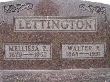 LETTINGTON, MELLISSA E. - Warren County, Iowa | MELLISSA E. LETTINGTON