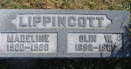 LIPPINCOTT, OLIN W. - Warren County, Iowa | OLIN W. LIPPINCOTT