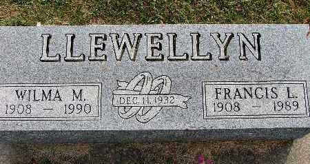 LLEWELLYN, WILMA M. - Warren County, Iowa | WILMA M. LLEWELLYN