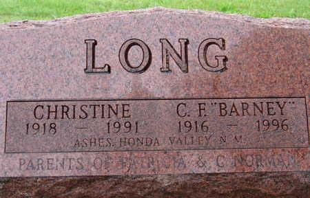 LONG, CHRISTINE - Warren County, Iowa | CHRISTINE LONG
