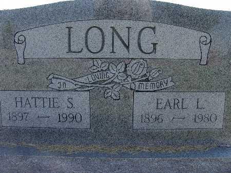 LONG, EARL L. - Warren County, Iowa   EARL L. LONG
