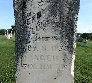 LUKENBILL, HENRY - Warren County, Iowa | HENRY LUKENBILL