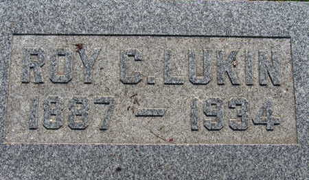 LUKIN, ROY C - Warren County, Iowa | ROY C LUKIN