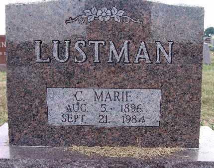 LUSTMAN, C. MARIE - Warren County, Iowa | C. MARIE LUSTMAN