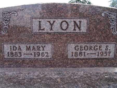 LYON, IDA MARY - Warren County, Iowa | IDA MARY LYON