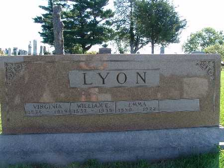 LYON, EMMA - Warren County, Iowa | EMMA LYON
