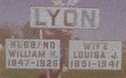 LYON, LOUISE J - Warren County, Iowa | LOUISE J LYON
